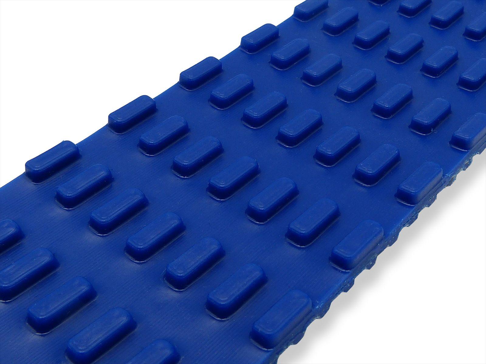 Tasselli di forma trapezia base 5mm altezza 4,5 mm ad interasse 8 mm