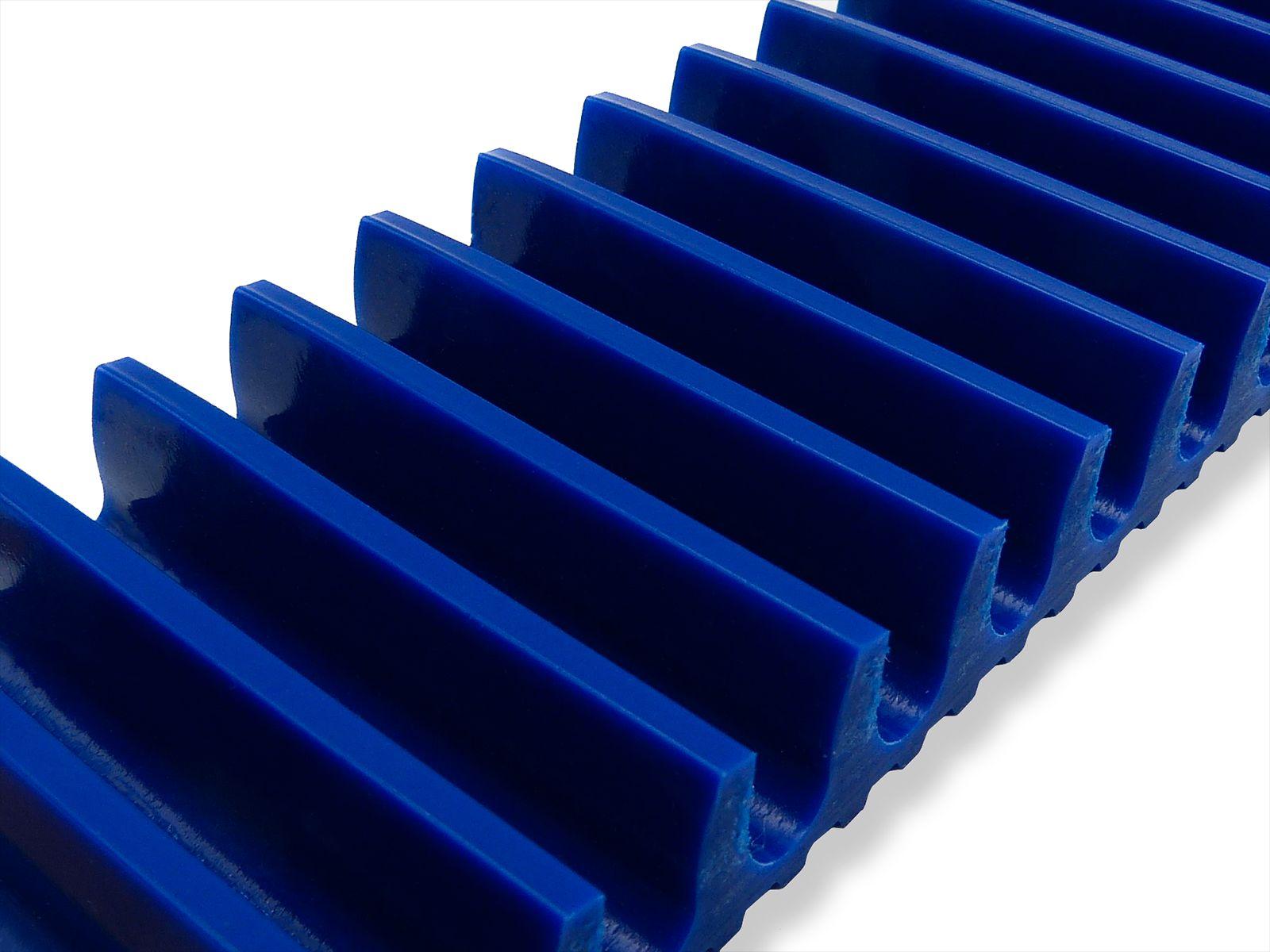 Tasselli trasversali curvi altezza 10 mm spessore 3mm ad interasse 10 mm