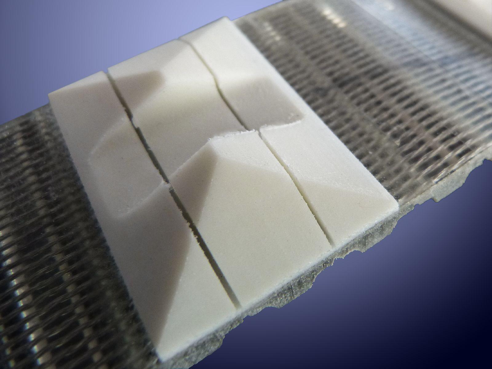 Questo tipo di tassello viene utilzzato per la formatura del packaging nel settore bevande