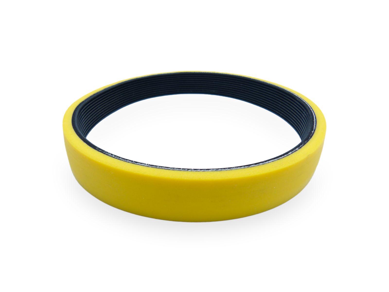 E' possibile applicare la gomma siliconica anche su cinghie in neoprene POLY-V