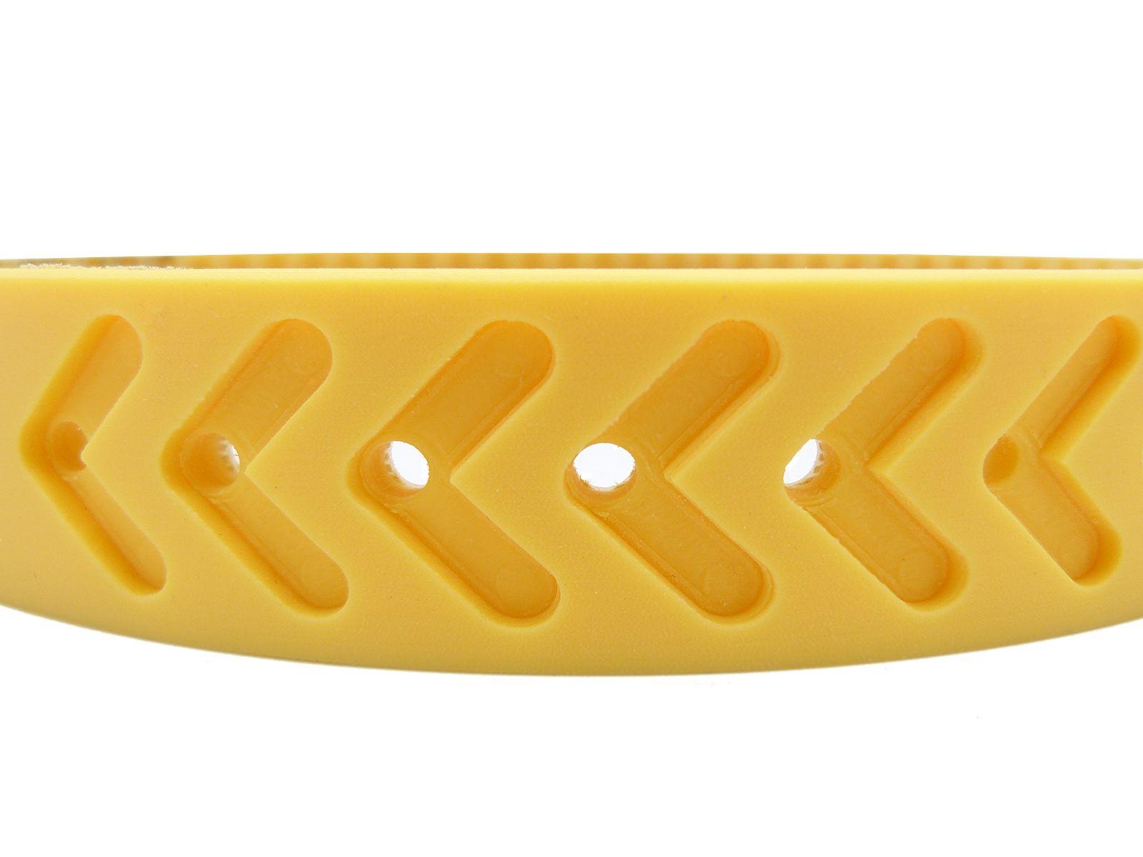 Gomma siliconica gialla 50 shore ottimo mix fra grip e durabilità